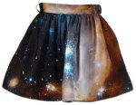 blue-fashion-galaxy-galaxy-skirt-orange-Favim